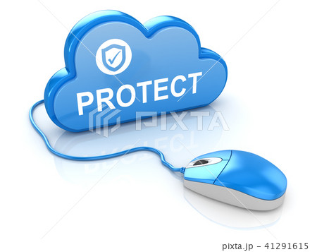 Computer Mouse with Cloud 41291615