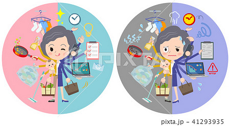 Yellow jacket Middle women_mulch task switch 41293935