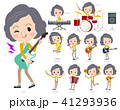 Yellow jacket Middle women_pop music 41293936