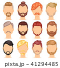 ひげ 髭 ベクトルのイラスト 41294485