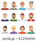 ひげ 髭 ベクトルのイラスト 41294494