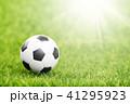 サッカー ボール 球の写真 41295923