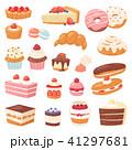 ケーキ お菓子 スイーツのイラスト 41297681
