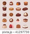 ショコラ チョコレート お菓子のイラスト 41297730