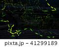ホタル 光跡 光の写真 41299189