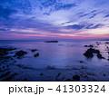 竜宮城と朝日 城崎温泉近くの美しい海岸 日和山海岸 後ヶ島 41303324