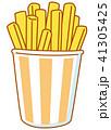 フライドポテト ポテト カップのイラスト 41305425