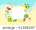 夏 海 リゾートのイラスト 41306287