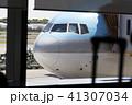 国際空港 飛行機 旅客機の写真 41307034