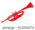 トランペット 水彩画 41309474