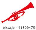 トランペット 水彩画 41309475