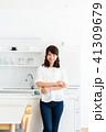 キッチン 台所 女性の写真 41309679