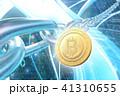 ビットコイン 暗号通貨 仮想通貨のイラスト 41310655