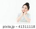 女性 若い 悩むの写真 41311118