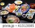 温泉宿の食事 和食の集合 41313085