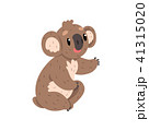ベクトル コアラ 動物のイラスト 41315020