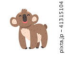 ベクトル コアラ 動物のイラスト 41315104