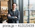 白人 ビジネスマン 男性の写真 41315439