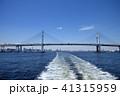 横浜ベイブリッジ ベイブリッジ 斜張橋の写真 41315959