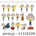 女性 人物 おばあさんのイラスト 41328288