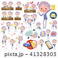 女性 人物 おばあさんのイラスト 41328303