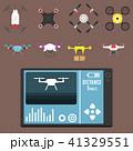 ドローン テクノロジー 技術のイラスト 41329551