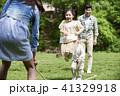 家族 ファミリー 屋外の写真 41329918