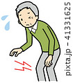 ひざ痛 ひざ 痛みのイラスト 41331625