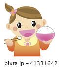 ごはんを食べる 41331642