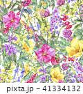水彩画 フラワー 花のイラスト 41334132