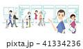 理学療法士とリハビリテーションのイラスト 41334236