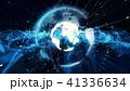 テクノロジー アブストラクト ネットワークのイラスト 41336634