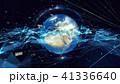 テクノロジー アブストラクト ネットワークのイラスト 41336640