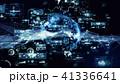 テクノロジー アブストラクト ネットワークのイラスト 41336641