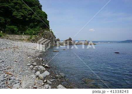 三陸ジオパーク久慈の海岸の写真...