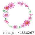 コスモス 秋の花 フレーム 41338267