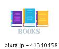 ブック 本 ベクトルのイラスト 41340458