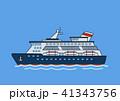 船 船舶 クルーズのイラスト 41343756