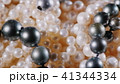 White and black pearls, close-up videos 41344334