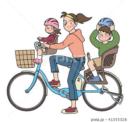 自転車のチャイルドシート 41355328