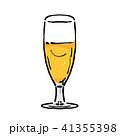 ビール イラスト グラスビール 41355398