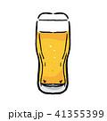 ビール イラスト グラスビール 41355399