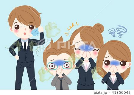 businessman with body odor problem 41356042