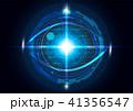 目 眼 ベクトルのイラスト 41356547