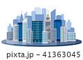 都会、ビル 41363045