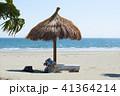 砂浜 海 ビーチの写真 41364214