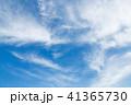 青空と薄い雲 41365730