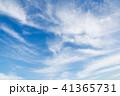 青空と薄い雲 41365731