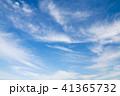 青空と薄い雲 41365732