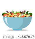 ボウル 器 サラダのイラスト 41367017